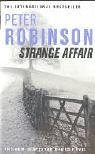 Book cover of Peter Robinson - Strange Affair