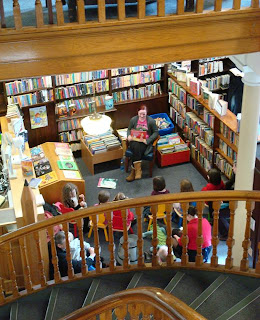 Children's Stor Time in Linen Hall Library