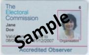 Electoral Observer card