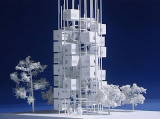 Could build a tree of Micro Compact Homes!