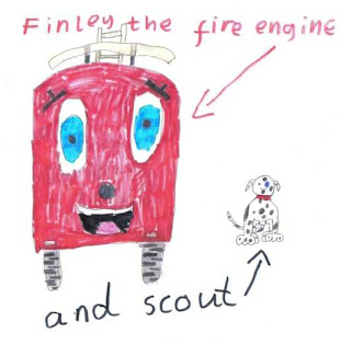 Finley the Fire Engine - a picture submitted as part of the BBC Trust's review of BBC Children's programming