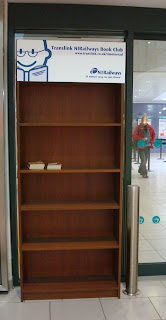 Translink's Time to Read bookcase in Belfast Central Station
