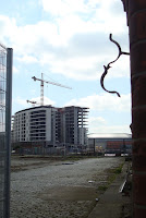 Titanic Quarter building work beside the Drawing Office
