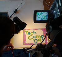 Chloe and Ruth's Tech Camp jiggle animation in production