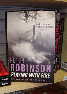 Cover of book by Peter Robinson - Playing with Fire
