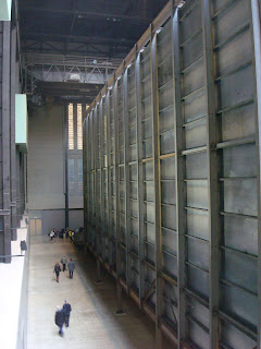 Miroslaw Balka box in the Tate Modern's Turbine Hall