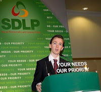 Belfast SDLP Councillor Niall Kelly