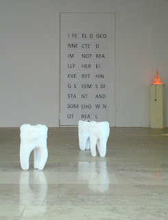 Model teeth at the University of Ulster