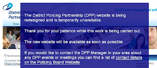 Static page for District Policing Partnerships