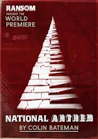 Poster for Colin Bateman's play National Anthem