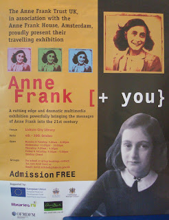 Anne Frank [+ you} exhibition in Lisburn Libraru during October 2010