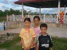 Di tapak perkelahan Desa Pangkalan Tumpat
