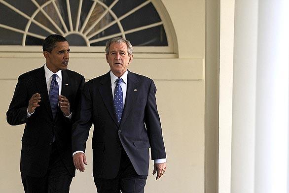 [obama+and+bush]