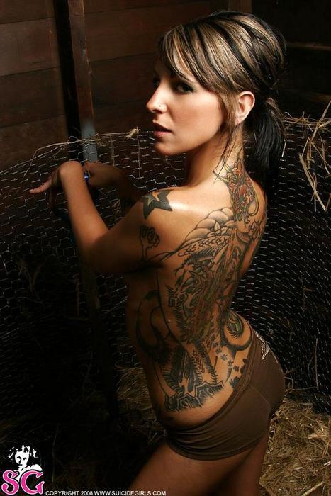 suicide girl tattoo. suicide girls tattoo.
