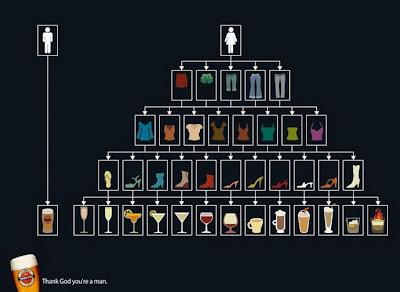 bebida, cerveja, homem, mulher, diagrama, diferença, guerra, sexo