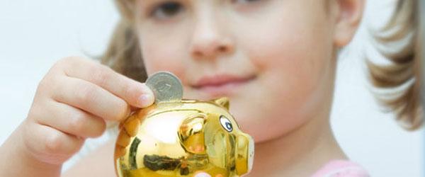 Niños ahorradores