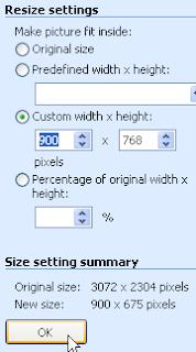 Cara Merubah Ukuran Gambar untuk Header