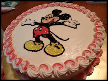 Cartoon Art Work Cake