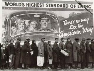 Hambrunas en los EEUU en los años 30 Great-depression-soup-line