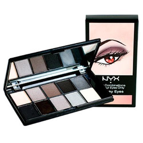 The Dynamic Eyeshadow Duo: Review: NYX 10 Color Eyeshadow Palettes.