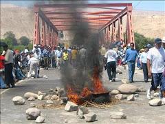 SOLIDARIDAD CON EL PUEBLO DE COCACHACRA,  PROVINCIA DE ISLAY