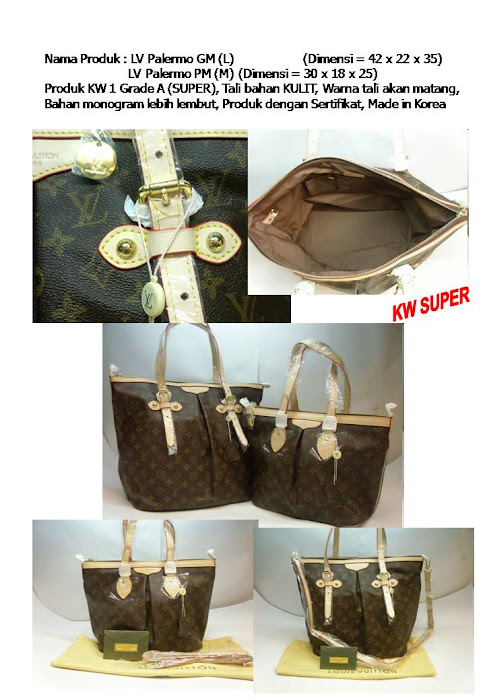 LV Palermo GM&PM Rp. 680 & 650 rb