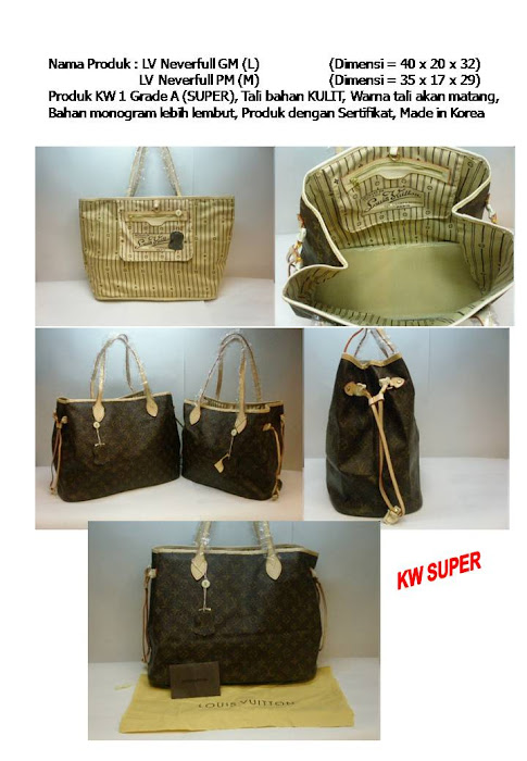 LV Neverful GM&PM Rp. 650 & 620 rb