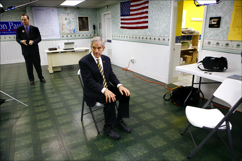 primary circus ron paul before the interview