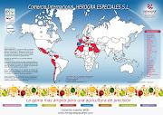 Bolo Mapa Mundo. Bolo de chocolate com recheio de chocolate. sam