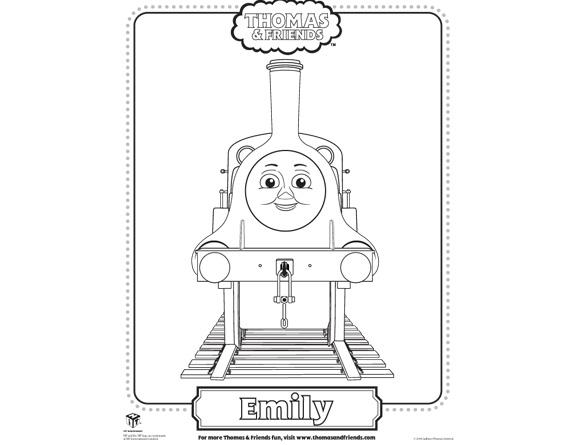 Fantástico Thomas Y Amigos Para Colorear Emily Ideas - Páginas Para ...