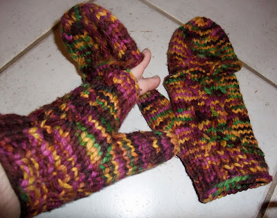 Whit's Knits: Hand Warmers and Flip Top Mittens - The Purl Bee