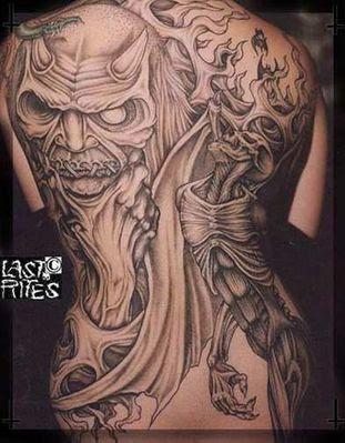 Paul Booth Dark & Evil Tattoos