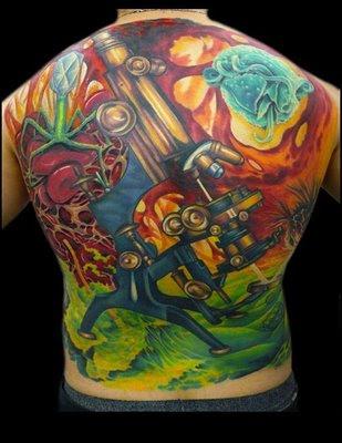 marine biology tattoos