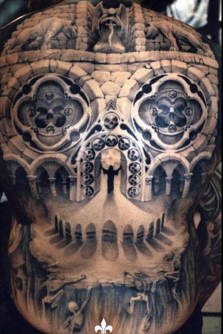 Angel Auto Insurance >> Full Back Tattoos | art of world paint