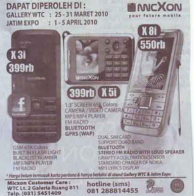 Micxon X8i, X5i and X3i