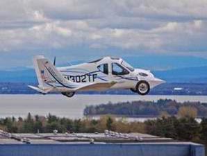 SkyCar Transition Roadable Aircraft (TRA)