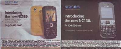 Nexcom NC589 and Nexcom NC138