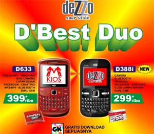 Dezzo D633 and D388