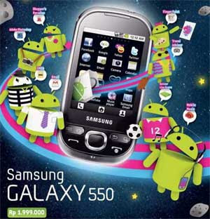 Samsung Galaxy 550
