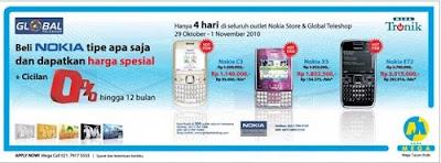 Nokia C3, Nokia X5 And Nokia E72 Promo