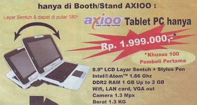 Tablet PC Axioo