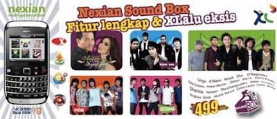 Harga dan spesifikasi Nexian Soundbox NX-G509