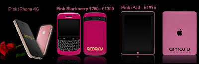 Pink iPhone 4 iPad BlackBerry Bold harga Price