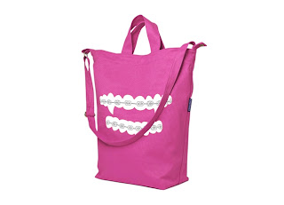Vampire Vampire Orthodontics tote bag $25 from Threadless! featured on Shopalicious.com