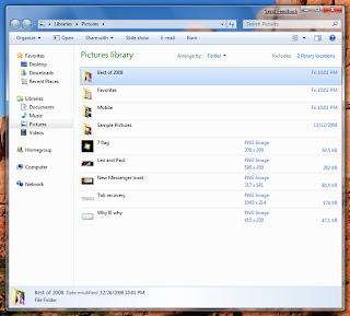 Library pada windows 7