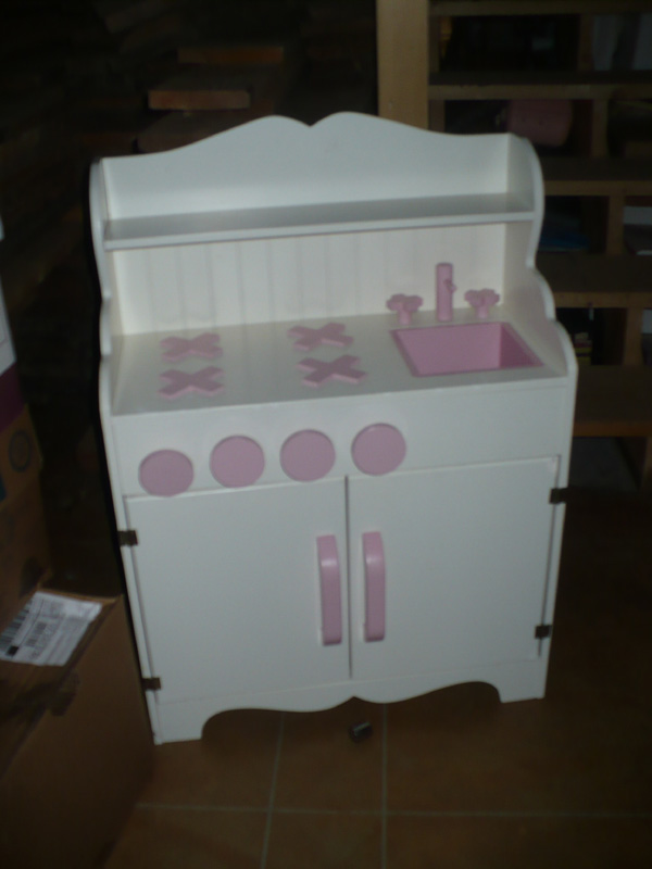 Small Wooden Play Kitchen