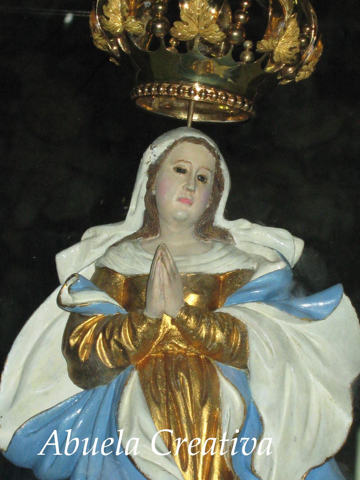 Virgen abuela grandad desflorar