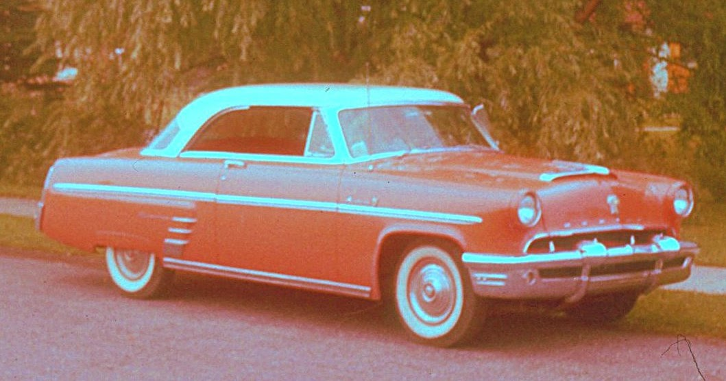 Wrye comments cars in my life 1953 mercury 2 door hardtop for 1953 mercury 2 door hardtop