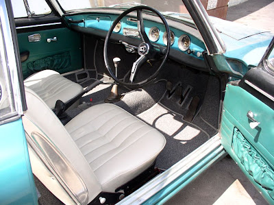 Seats & carpet were restored by Jose Rodriguez in Vista, CA