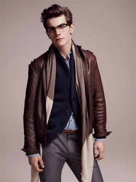 Mens Clear Fashion Jacket